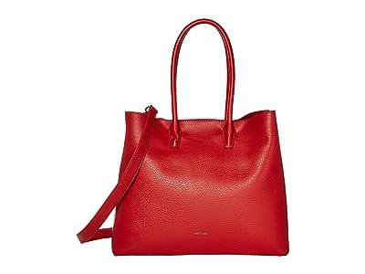 Matt & Nat Dwell Krista (Red/Red) Handbags