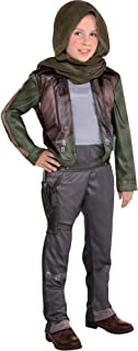 Rogue One: A Star Wars Story Jyn Erso Costume for Girls, Includes a Jumpsuit and a Headwrap