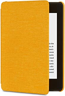 Amazon Kindle Paperwhite Water-Safe Fabric Cover (10th Generation - 2018 Release), Yellow