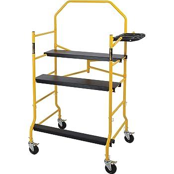 Metaltech I- IMIS Job Site Series 6-3/8 4 x 2-1/2 ft. Scaffold 900 lb. Load Capacity