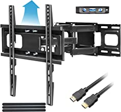 Full Motion TV Mount with Height Setting FOZIMOA TV Wall Mount for Most 32-65 inch LED LCD Plasma Flat Screen Articulating...