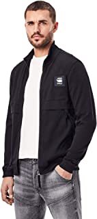 G-STAR RAW Men's Box Graphic Zip Through Tweater Sweatshirt