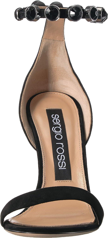 Sergio Rossi Women's Crystal Moon Heeled Sandal