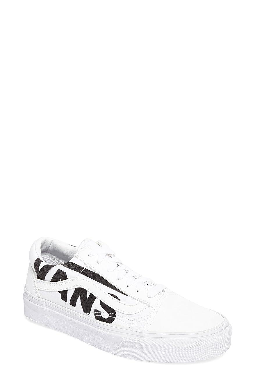 ハンカチアシスタント処方するバンズ シューズ スニーカー Vans Old Skool Sneaker (Women) True White [並行輸入品]