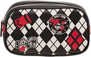 DC Comics Harley Quinn Cosmetic Makeup Bag Tote