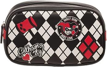 DC Comics Harley Quinn Cosmetic Makeup Bag Tote
