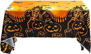 Tafelkleed Halloween decoratie, waterdicht plastic tafelkleed, griezelig tafelkleed, wegwerp rechthoekig tafelkleed, griez...