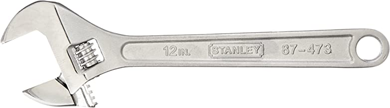(30cm ) - Stanley Hand Tools 30.5cm . Adjustable Wrench 87-473