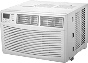 AMANA 8,000 BTU 115V Window-Mounted Air Conditioner with Remote Control, White