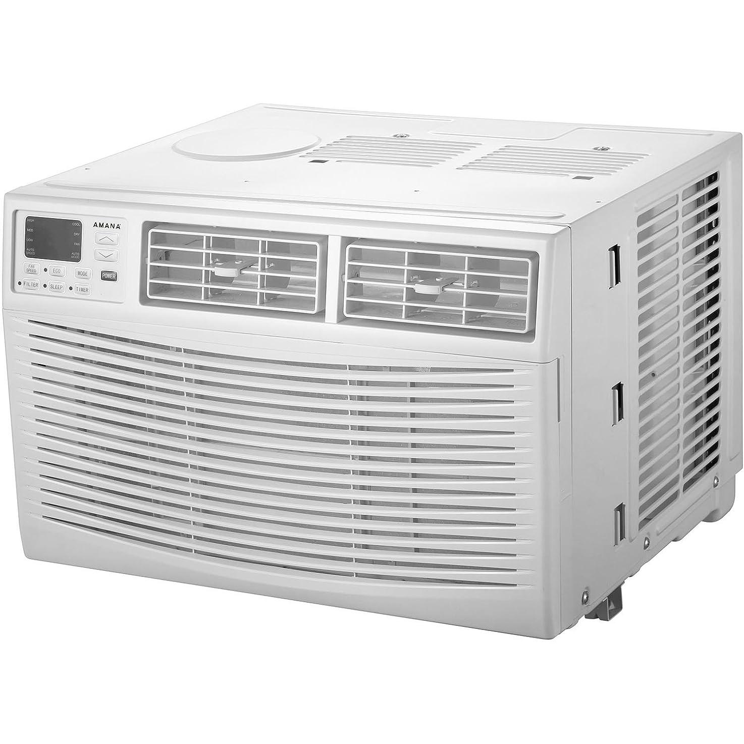 Amana 12,000 BTU 115V Window-Mounted Air Conditioner with Remote Control, White equdffwcjyysx9