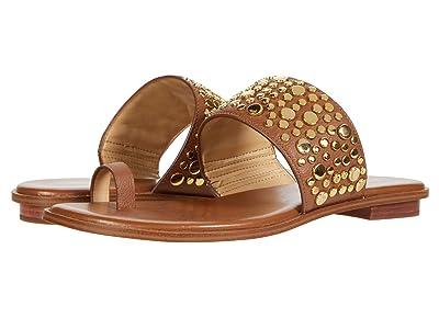 MICHAEL Michael Kors Sonya Studded Sandal (Luggage) Women