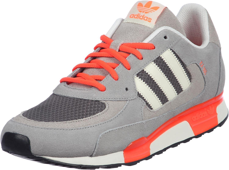 Amazon.com | adidas ZX 850 Wolf Grey Orange (Q22081) | Running