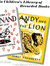THE STORY OF FERDINAND by Munro Leaf + ANDY AND THE LION by James Daugherty LP