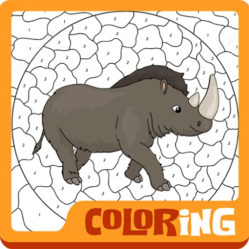 Happy Coloring by Numbers for Kids