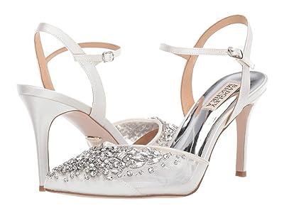 Badgley Mischka Opal (Soft White) High Heels