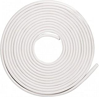 Car Door Edge Protector,16Ft(5M) Car Edge Trim Rubber Seal Protector with U Shape Car Protection Door Edge Guard Fit for Most Car (White)