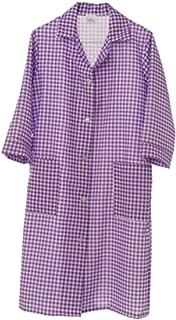 DESERMO 5x Premium Cravate courte devant 50cmx80cm|Tablier de haute qualit/é /à la taille pour femme et homme|100/% pur coton|Poids du tissu 210g//m/²|Blanc
