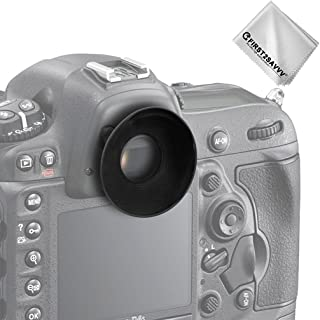 First2savvv DSLR reemplazo tapa del ocular y el ocular para Nikon D610 D600 D300S D7200 D7100 D7000 D90 D300 D200 D80 D70 D70S D60 DSLR Camera DK-21 DK-23 + Paño de limpieza - QJQ-OX-N-01G11