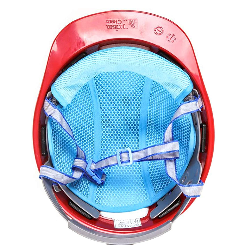 HW GLOBAL 3枚セット 防災 安全 ヘルメット取付用インナー キャップ 汗取り 頭保護 汗水吸 帽子に 汗を止める 四季節用 冬 暖かく 夏 ひんやり 熱中症対策 防止 グッズ 安全 内皮で頭を楽に 通気 速乾 ヘルメット インナー ライナー 作業用冷却メッシュ 汗止め ハットマイクロファイバークーリングパッドスウェットバンド Hard Hat Helmet Inner Cap