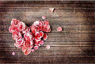 UEB Romantische Valentinstag Herz Liebe Fotografie Hintergrund Stoff Foto Studio (05)