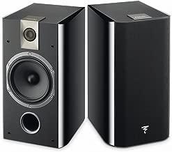 Focal Chorus 706 2-Way Bass Reflex Bookshelf Speakers - Pair (Black Style)