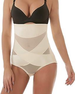 036c5bace16a69 Defitshape Women s High Waist Shapewear Panties Seamless Tummy Control Butt  Lifter Shaper