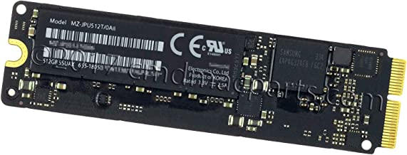Odyson - 512GB SSUAX SSD (PCIe 2.0 x2) Replacement for MacBook Pro 13