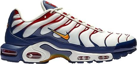 Nike Men's Air Max Plus Sail/University Gold/Midnight Navy | Nautical Pack Nylon Casual Shoes 10.5 (D) M US