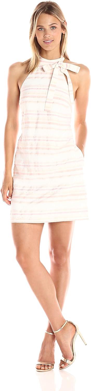 Ali & Jay Womens Fountain Coffee Room Mini Stripe Bow Dress Dress