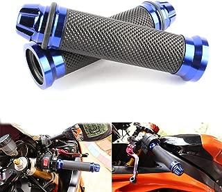 Universal 7/8 22mm Motorcycle Handlebar Grips Gel Rubble For Kawasaki Suzuki Honda Yamaha