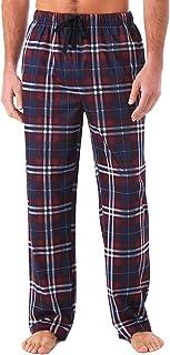 Miller & Jones Men's Pyjama Bottoms 100% Cotton Classic Checked Trousers Soft Comfy Lounge Pants Loungewear Sleepwear