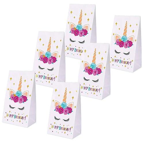 Erosom Unicorn Gifts Bags Paper