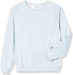 Kid Nation Kid's Cozy Velour Pullover Sweatshirt for Boys and Girls