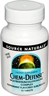 Source Naturals Sample Chem Defense Trial Tablets, Peppermint, 10 Count