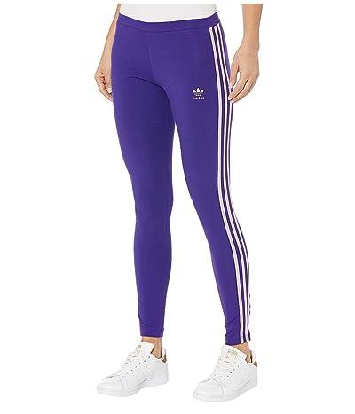 adidas Originals 3 Stripes Tights (Collegiate Purple) Women