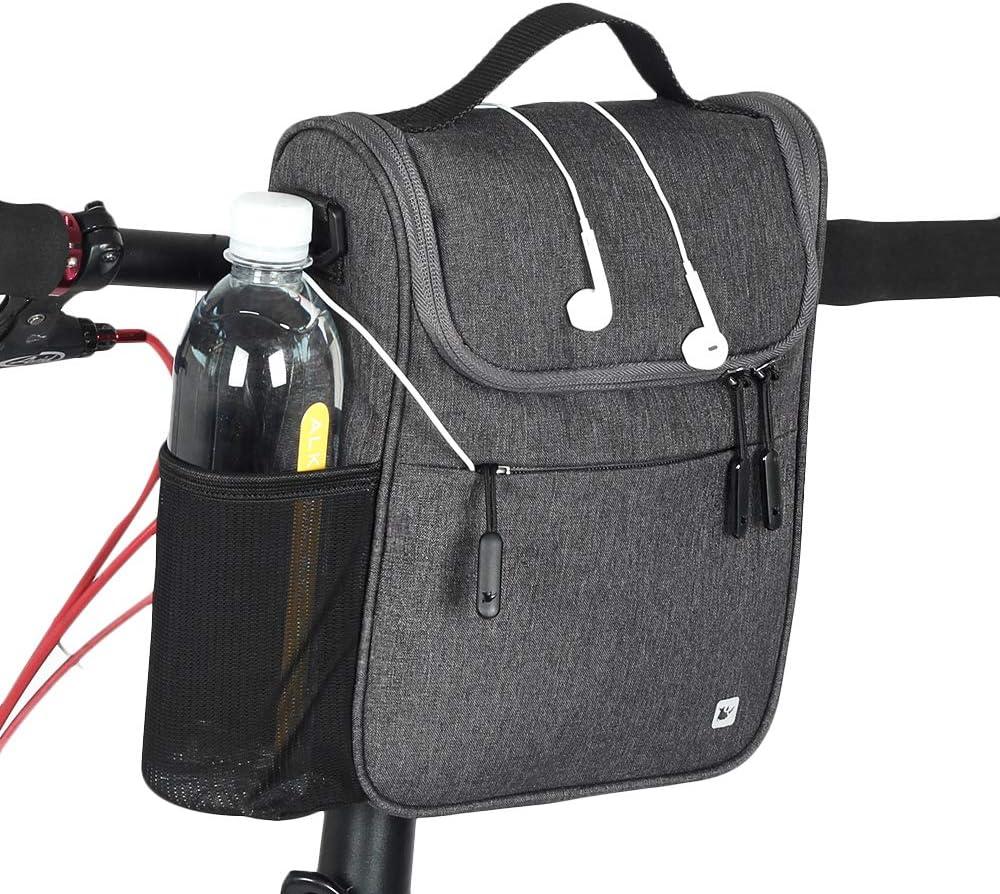 security Rhinowalk Bike Mail order cheap Handlebar Bag Bicycle Front Basket Tube