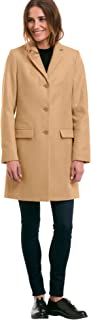 Women's Plus Size Long Wool Blend Blazer