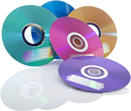 Verbatim CD-R 700MB 52X with Color  Branded Surface - 10pk Bulk Box, Assorted