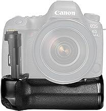 Neewer Pro Empuñadura de Batería de Cámara Reemplazo para Canon BG-E21 para 6D Mark II DSLR Cámara, Funciona con 1 o 2 LP-E6 Batería de Ion de Litio Recargable (Batería NO Incluida)