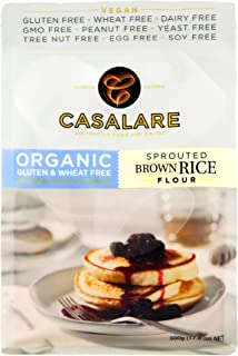Casalare Organic Sprouted Brown Rice Flour 500 g