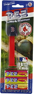 PEZ MLB Boston Red Sox, 0.87-Ounce Candy Dispensers (Pack of 12)