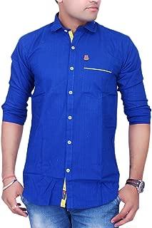 La Milano Plain Cotton Shirt