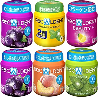 【Amazon.co.jp限定】 MDL リカルデント ボトルガム アソートパック 5種