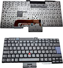 UK Layout Laptop Keyboard with Trackpoint For Lenovo ThinkPad R60 R60e R60i R61 R61e R61i T60 T60p T61 T61p Z60 Z60M Z60T Z61 Z61M Z61T R400 R500 T400 T500 W500 W700 W700ds Laptop Keyboard