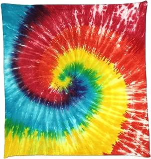 Sunshine Joy Tie Dye Spiral Bandana