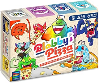 Blobby's Pizza Math Card Game: Crazy Fun Strategic Pizza Eating Contest Between Cute Monsters!