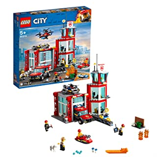 Lego Toy City Fire Station , For age 5 Years and above - 60215