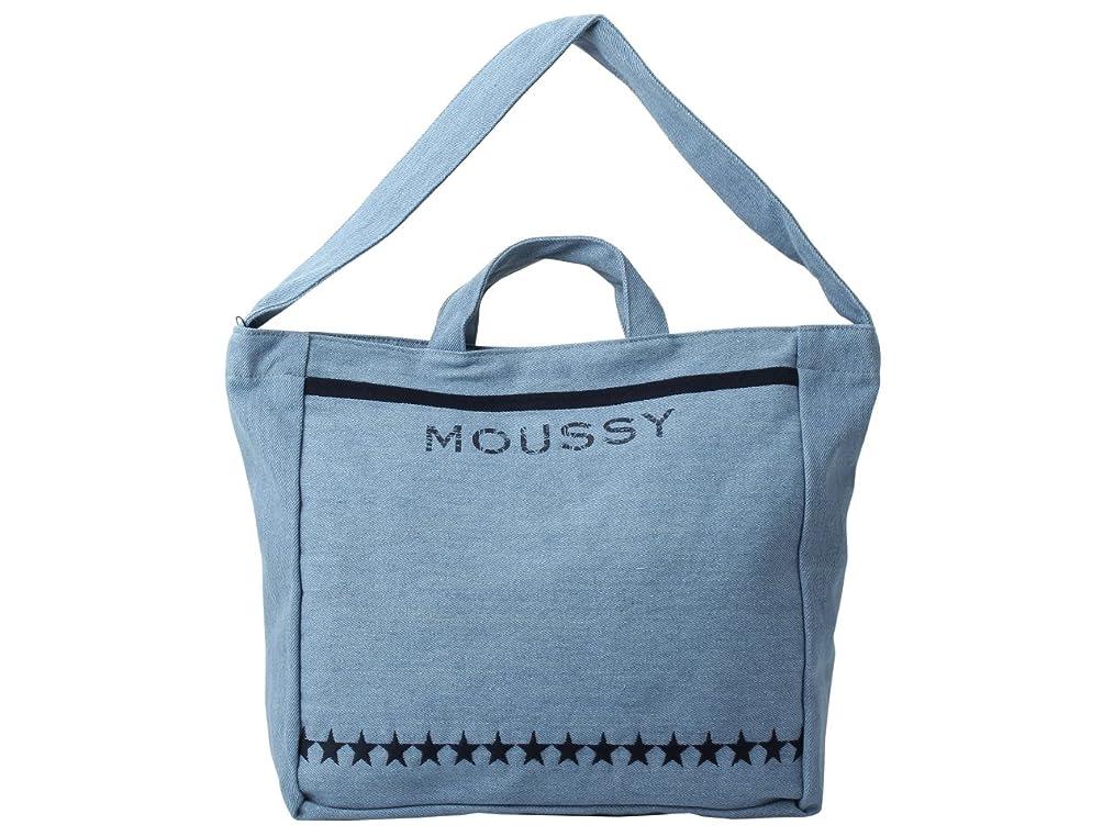 次寝室スタンド(マウジー) moussy ショルダーバッグ 2way ワンショルダーバッグ 星柄 m01278105-ind