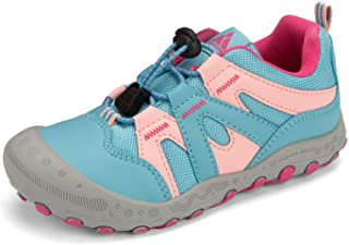 Boys Girls Athletic Hiking Shoes Anti Collision Non Slip Outdoor Walking Running Sneakers