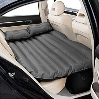 Compact Twin Size Vacation Camping Minivan Truck Sleeping Blow-Up Bed Pad fits SUV JMEOWIO Car Inflatable Air Mattress Back Seat Pump Portable Travel